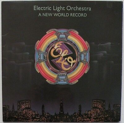 ELO / Electric Light Orchestra: A New World Record, Vinyl LP; 1976 1stP. VG+/VG+