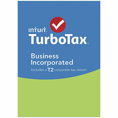 turboTax Business Incorporated 2015/2016 (and other years)