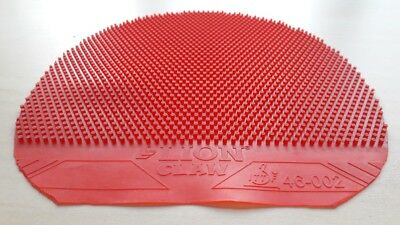 Used Table Tennis Rubber - LION CLAW Long Pimple  W150 x H156
