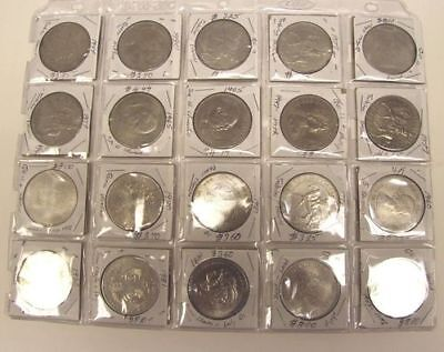 Lot of 20 United Kingdom Commemorative Coins (List in Description)