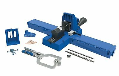 Kreg K5MS Pocket Hole K5 Jig Master System with Face Clamp, Bonus Accessories