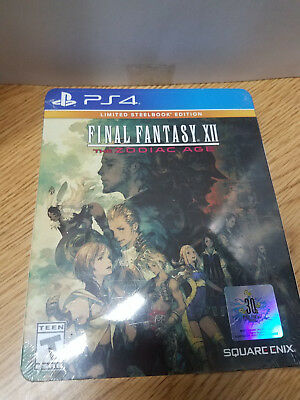 ~* Final Fantasy XII: The Zodiac Age - Limited SteelBook Edition ~ PlayStation 4