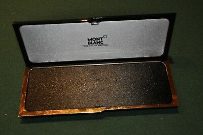Montblanc Pen Box - Box Only, No Pen