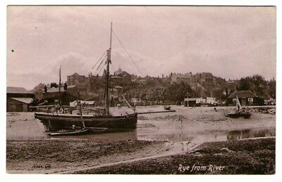 Rye, from the River, RP postcard
