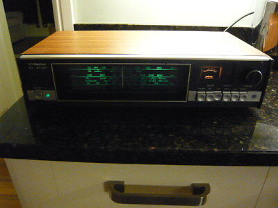 Vintage Teleton GT-203 FM LW MW tuner with rotating knob and AFC