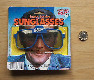 066 Imperial Toy Corp. Secret Service Sunglasses 1984 James Bond
