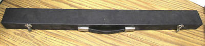 Billiard Cue Hard Case - Red Lining