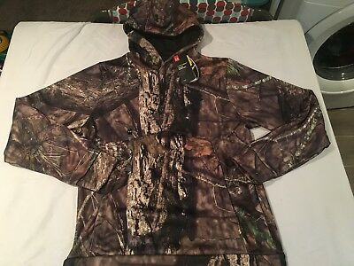 NWT $74.99 Under Armour CG Mens Storm Camo Hoodie Mossy Oak BreakUp Country LARG