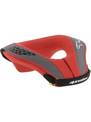 Alpinestars Black-Red 2018 Sequence Kids MX Neck Protector