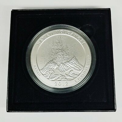 2012 Hawai'i Volcanoes America The Beautiful Five Ounce Silver Uncirculated Coin