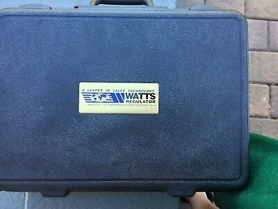 Watts TK9A backflow tester close to new used 6 times
