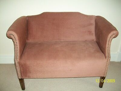 Antique two seat sofa/couch