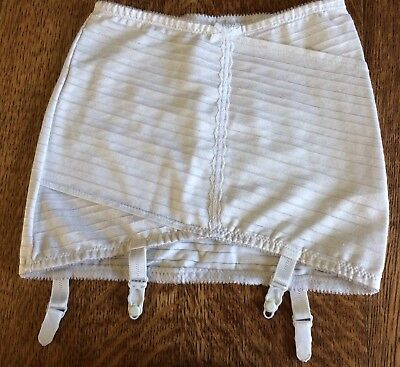 "Vintage Roll on Girdle Shapewear Suspender, Waist 26""/27"", (G12)"