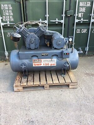 Industrial 3 Phase Electric Compressor 7.5hp