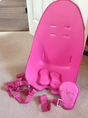 Bloom Fresco Leatherette Set Pad-Pink Excellent Condition