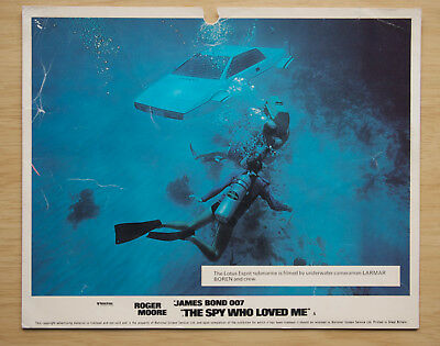 083 The Spy Who Loved Me 1977 British Front Of House Lobby Card James Bond 02
