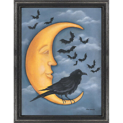NEW Moon Crow Chart- Needlework