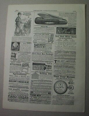 1879 ad: AUBURNDALE chronograph timer; early stopwatch; Birch & Co.