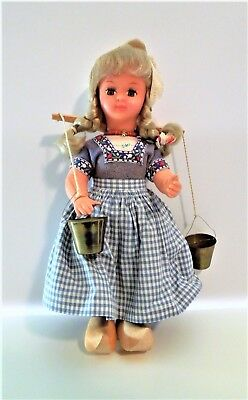 collectible doll, dressed looking like Holland or Sweden