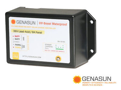 Genasun Gvb-8-Pb-36V-Wp Mppt Charge Control Voltage Boost 36 Vdc 8A Waterproof