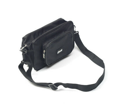 Drive Mobility Scooter Wheelchair Pannier Bag with Shoulder Strap Black Arm Pad