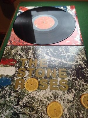 THE STONE ROSES - S/T UK PRESS A2/B2 classic Indie album LP IAN BROWN