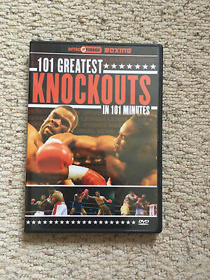 101 Great Knockouts (DVD, 2005) Used once but great condition.