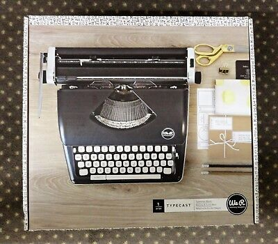 American Crafts Typewriter We R Memory Keepers Typecast BLACK Brand New In Box