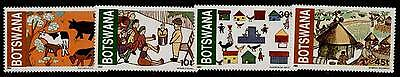 Botswana 295-8 MNH Children's Art, Animals