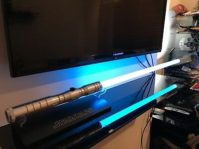 Ultrasabers Aeon V3 custom lightsaber with sound. Not Force FX, Includes blade.
