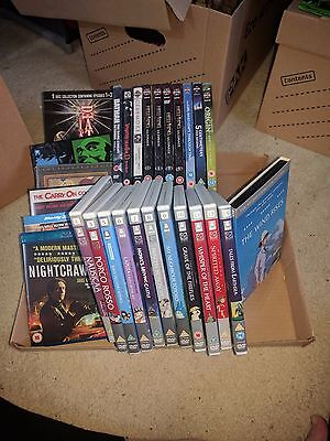 Job lot of 28 DVDs and Blu Ray including Anime and Studio Ghibli