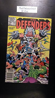 The Defenders - # 113 Comic Book - Includes Bag/Board - VG