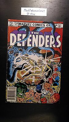 The Defenders - # 114 Comic Book - Includes Bag/Board - VG+