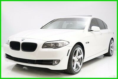 2012 BMW 5-Series i 2012 i Used Turbo 2L I4 16V Automatic RWD Sedan Premium