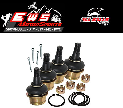Polaris General 1000 All Balls Front Ball Joint Kit Set Of 4 2016-2017
