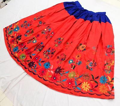 Vintage Kuchi Collectible Rabari Banjara Tribal Ethnic Belly Dance Skirt