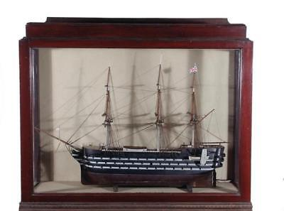 British naval warship model Lot 377