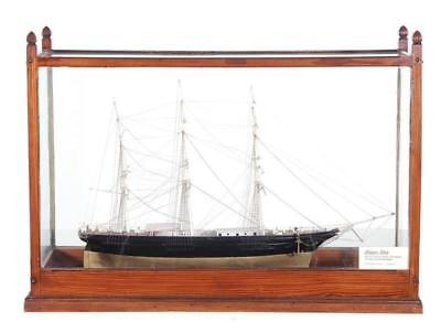 Early American clipper ship model Lot 385
