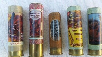Winchester Peters Remington advertising display dummy shells