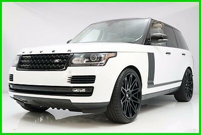 2013 Land Rover Range Rover Supercharged 2013 Supercharged Used 5L V8 32V Automatic 4WD SUV Premium