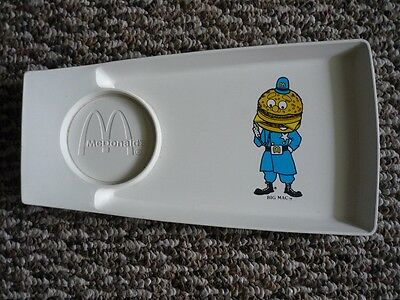 McDonald's Big Mac Tray with Cupholder  1970s VIntage