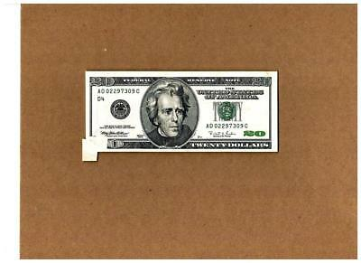 """$20.00 1996 Cleveland Type with """"Printed FoldOver Error""""~Nice(XF)with epq"""