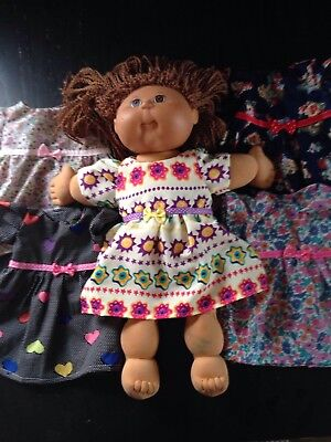 Homemade Cabbage Patch Dress - 5 Pattern Choices