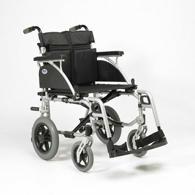 Days Link Attendant Transit Crash Tested Wheelchair - 6 Seat Widths Available