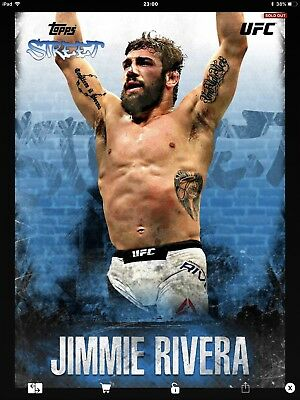 Topps UFC Knockout Digital,  Topps Street, Jimmie Rivera