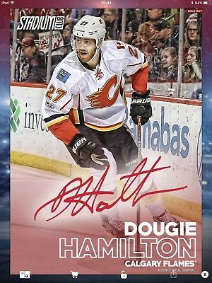 Topps NHL Skate Digital,  Stadium Club Signature,  Dougie Hamilton