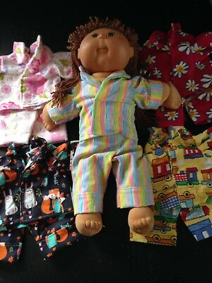 Homemade Cabbage Patch Pyjamas - 5 Pattern Choices