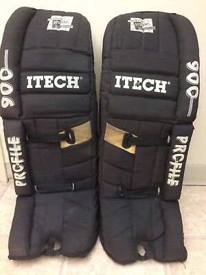 "Itech Profile GP 900 Goalie Pads Adult 34"" Black"