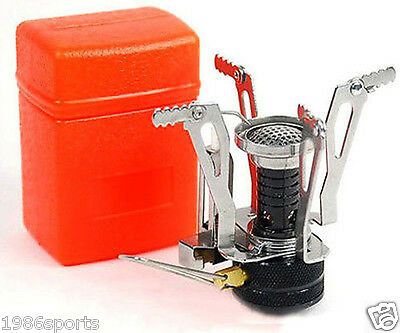 Ultralight Backpacking Gas Butane Propane Canister Outdoor Camp Stove Burner #L1