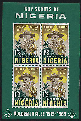 Nigeria 172a MNH Scouts, Lord Baden-Powell